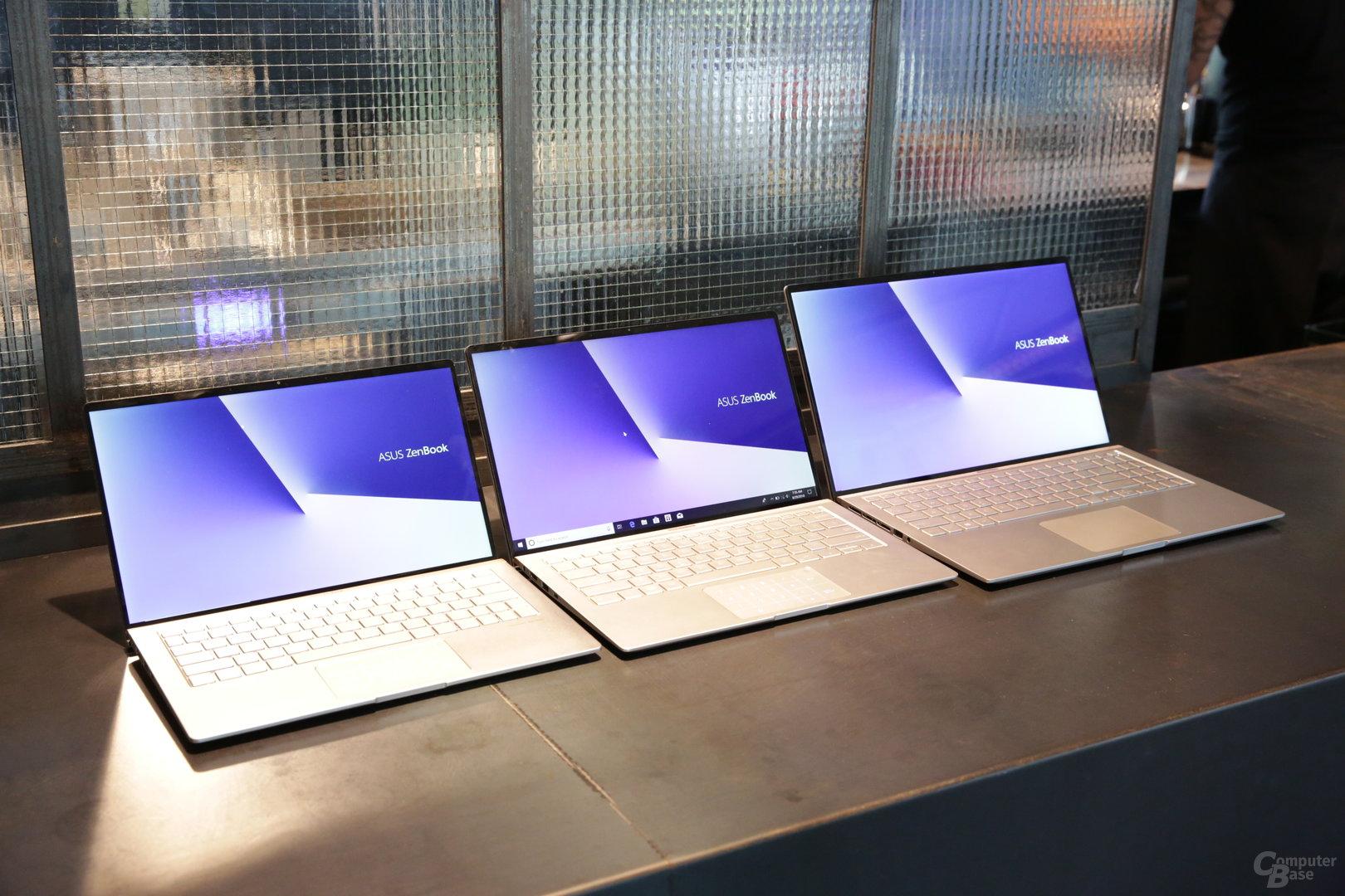 ZenBook 13, 14 und 15