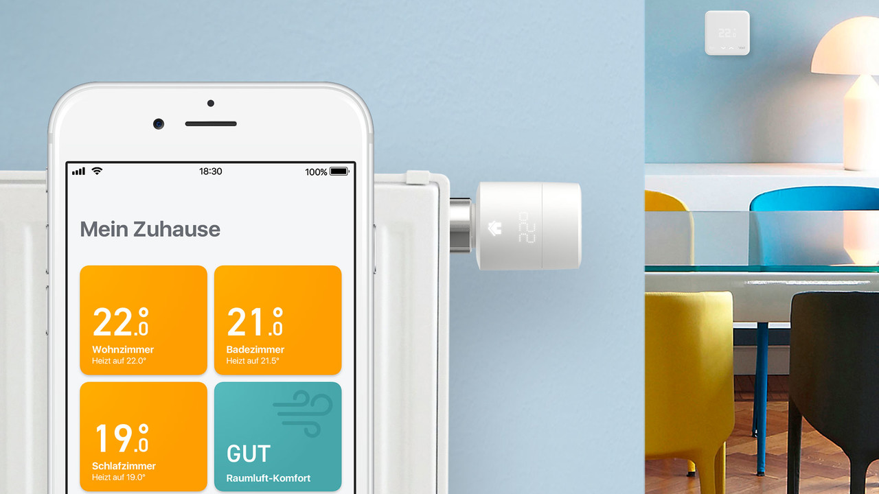 Tado: Smarte Thermostate V3+ sind günstiger und helfen zu lüften