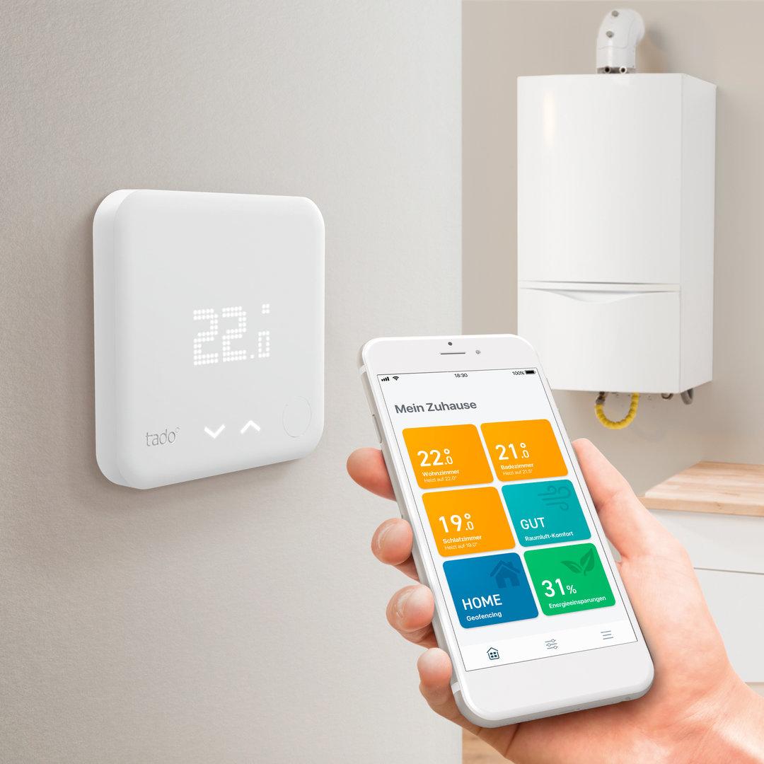 Tado: Smartes Thermostat und Boiler