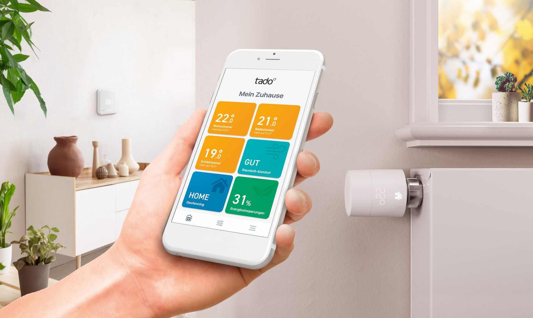 Tado smarte Thermostate V3+