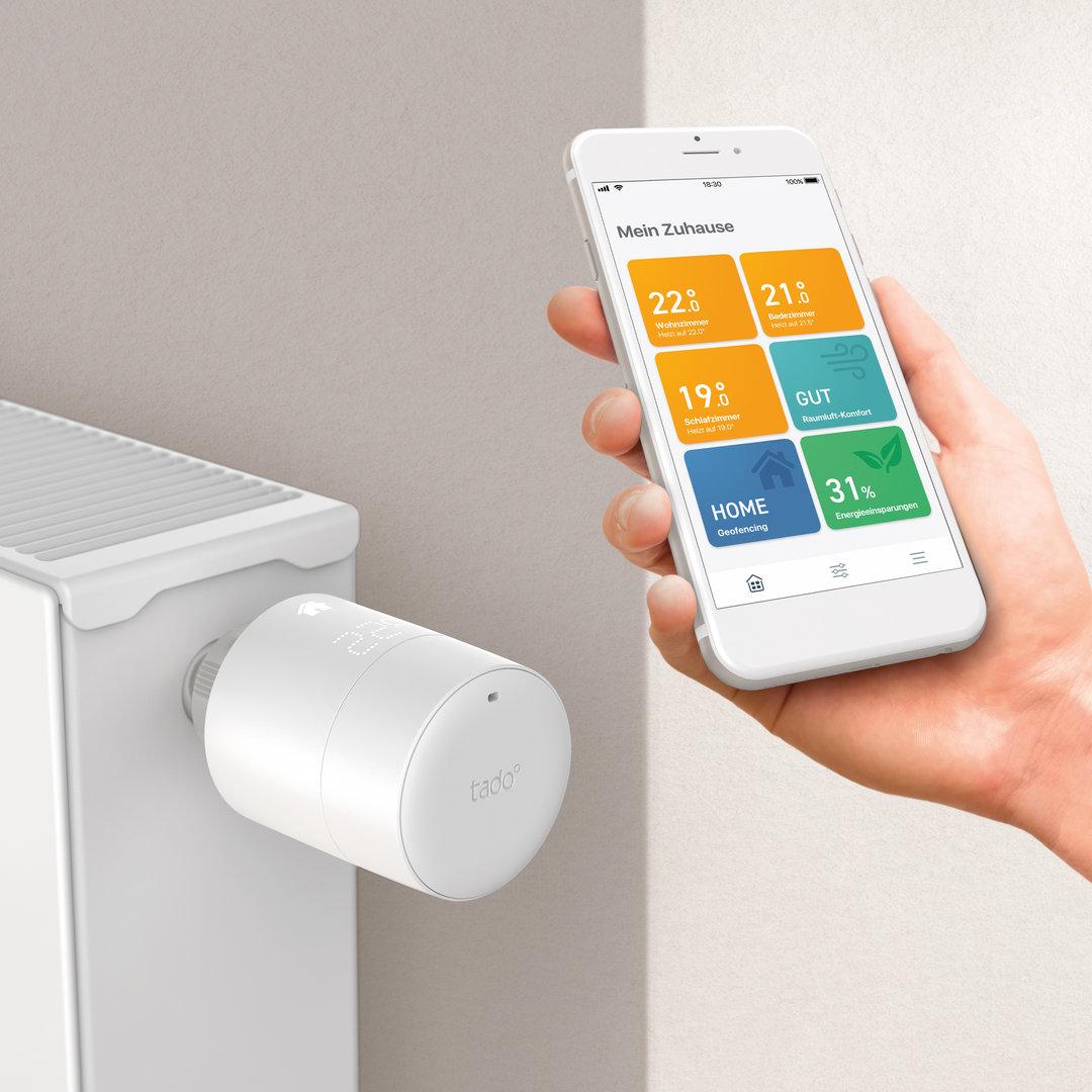 Tado: Smartes Heizkörper-Thermostat und App