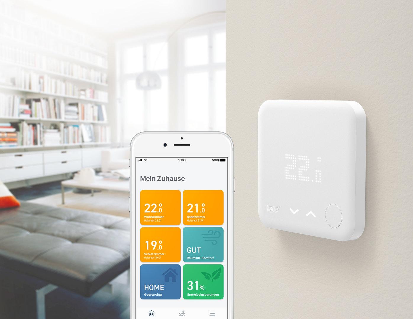 Tado: Smartes Thermostat