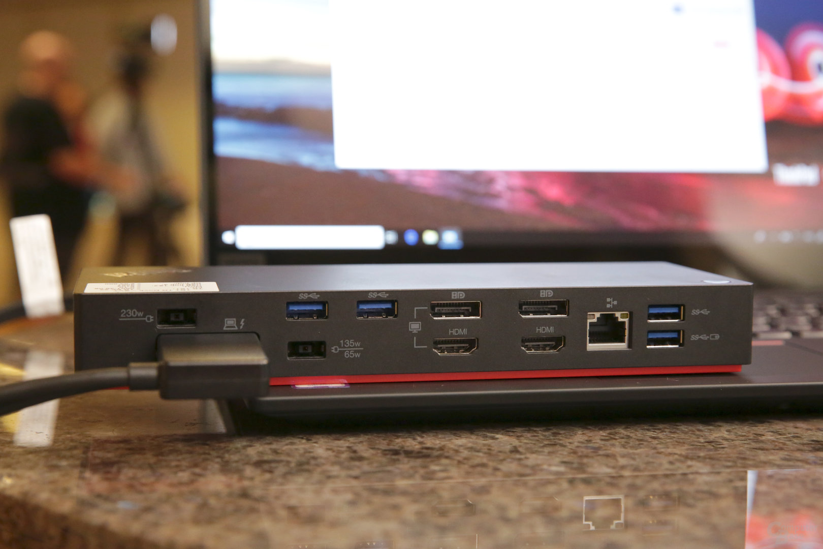 ThinkPad Thunderbolt 3 Workstation Dock