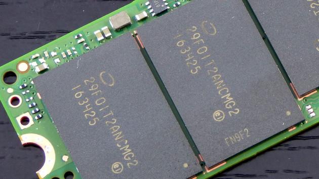 Gerücht: Schlechte Ausbeute bei QLC-NAND von Intel und Micron