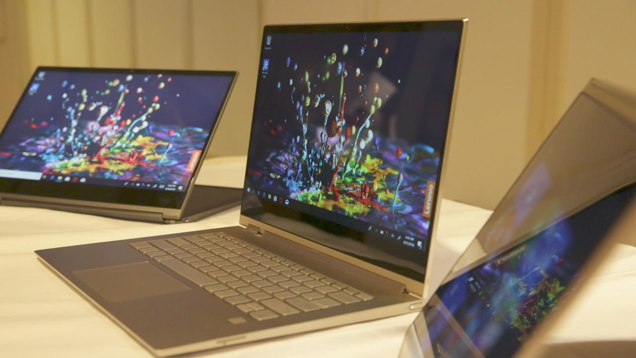 Lenovo: Beim Yoga C930 rotiert jetzt die Soundbar mit