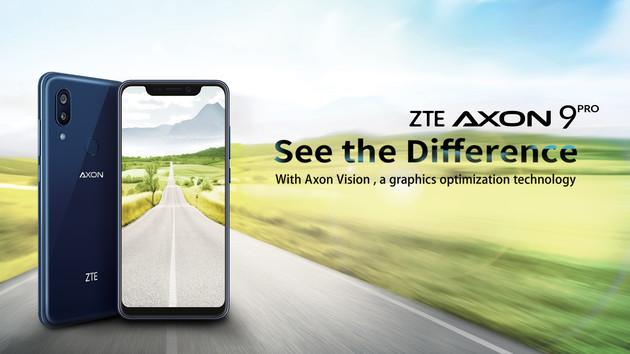 ZTE Axon 9 Pro: Prall gefülltes Datenblatt für 650 Euro