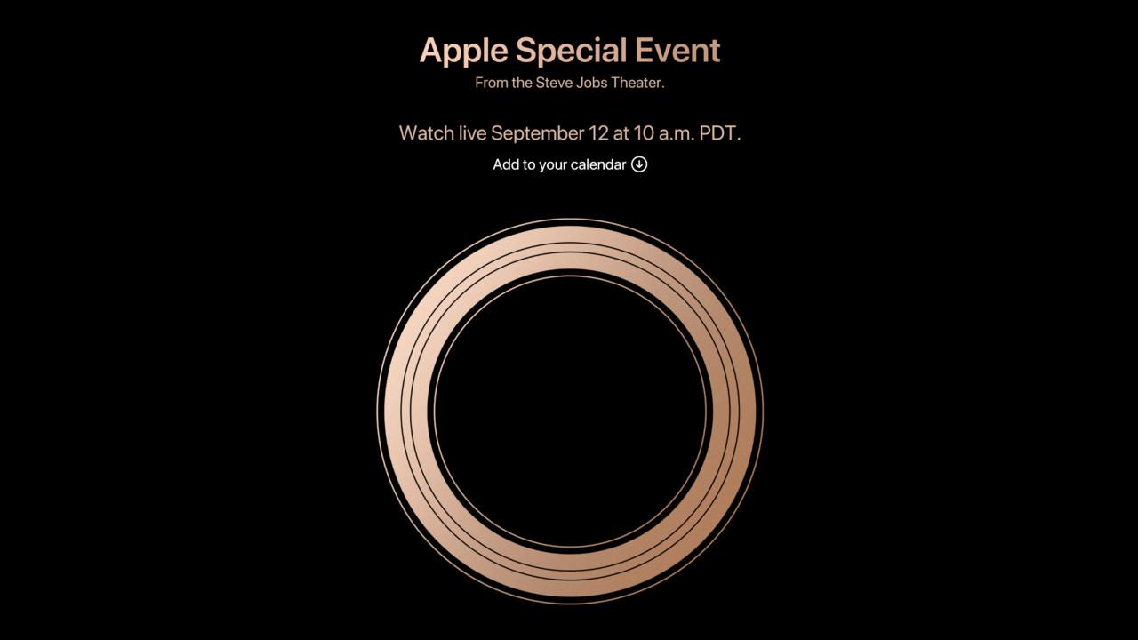 Apple: Special Event am 12. September