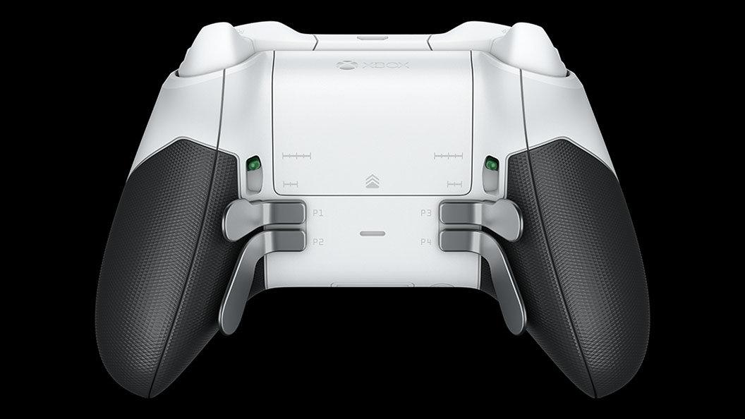 Xbox Elite Controller in der White Edition