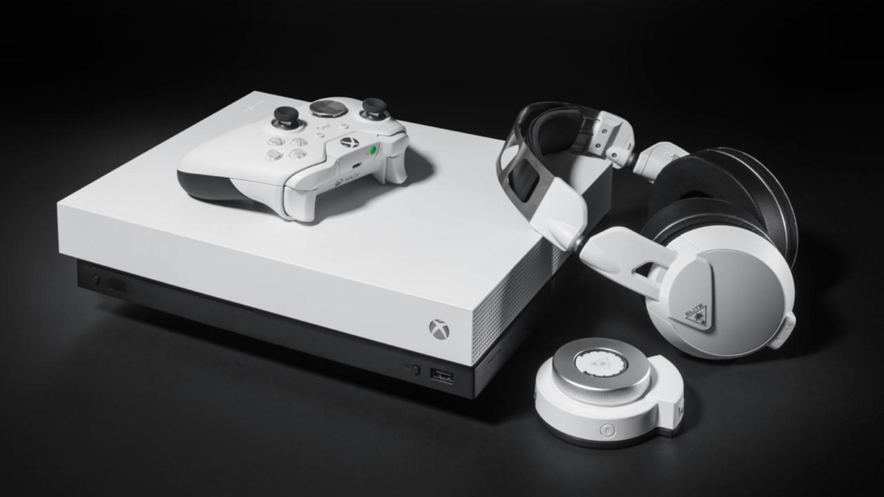 Xbox One X: Konsole und Elite Controller in Weiß angekündigt
