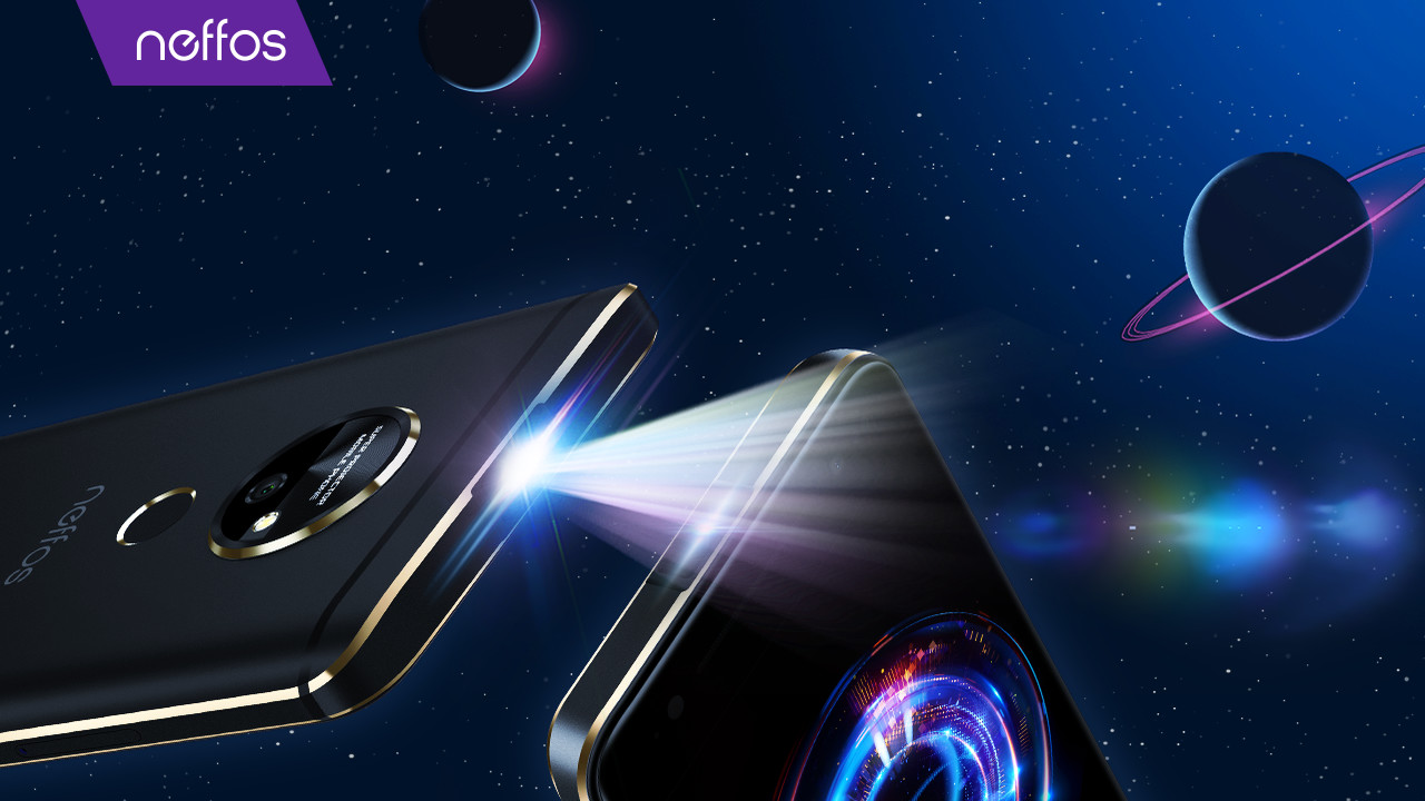 Neffos P1: TP-Link zeigt Smartphone-Studie mit Projektor