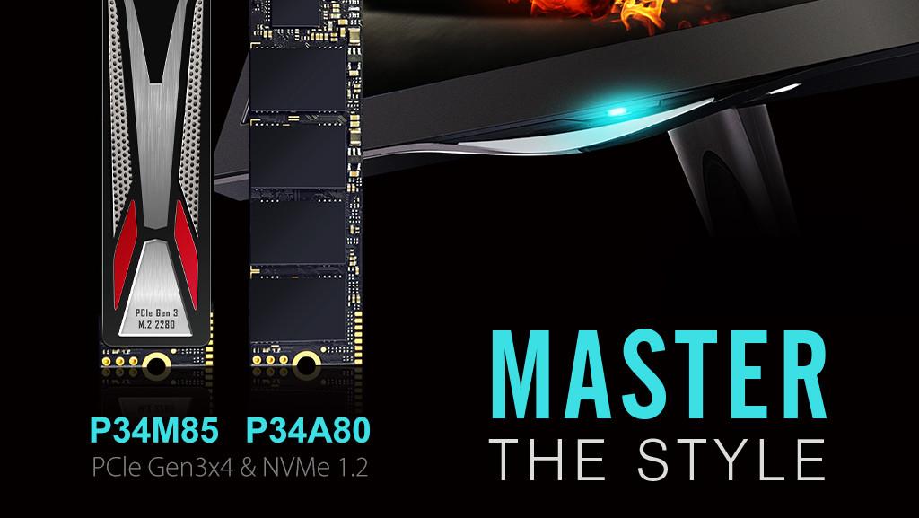 Silicon Power: PCIe-Offensive mit vier M.2-SSDs mit und ohne Kühler