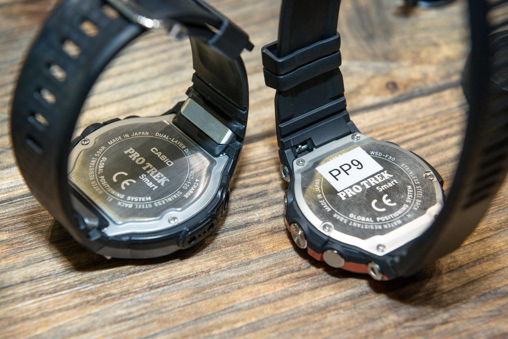 Casio Pro Trek Smart WSD-F30: Mit wechselbarem Armband