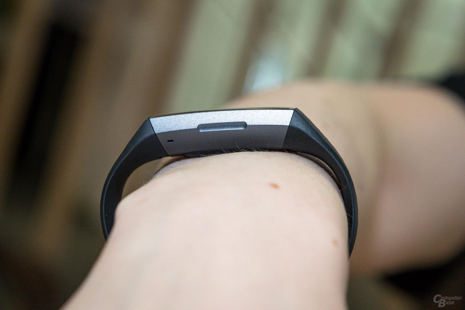 Fitbit Charge 3: Ergonomie