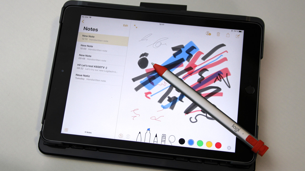 Logitech Crayon: Die Alternative zum Apple Pencil wird frei erhältlich