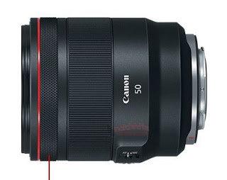 Canon RF 50 mm F1.2L USM