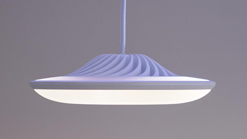 Model F: Smarte Lampe für gerichtetes, mehrfarbiges Licht