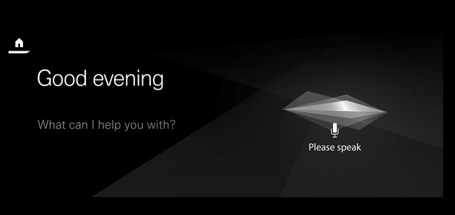 Interface des BMW Intelligent Personal Assistant