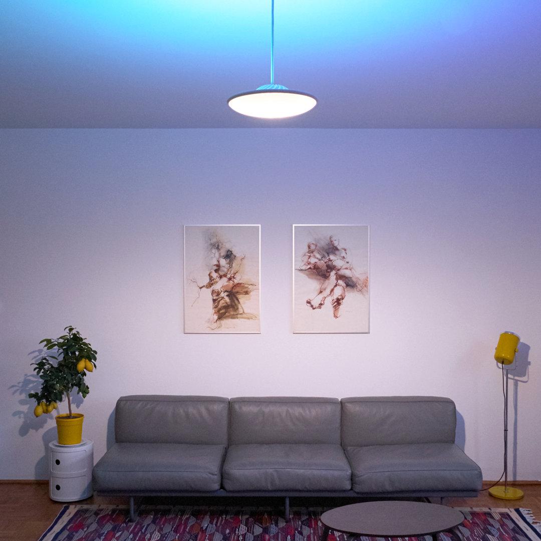 Model F – Blue Indirect Light