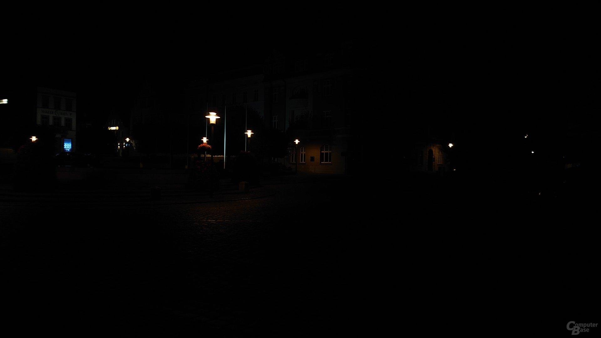 Nachtaufnahme, Hauptlinse, ISO 50