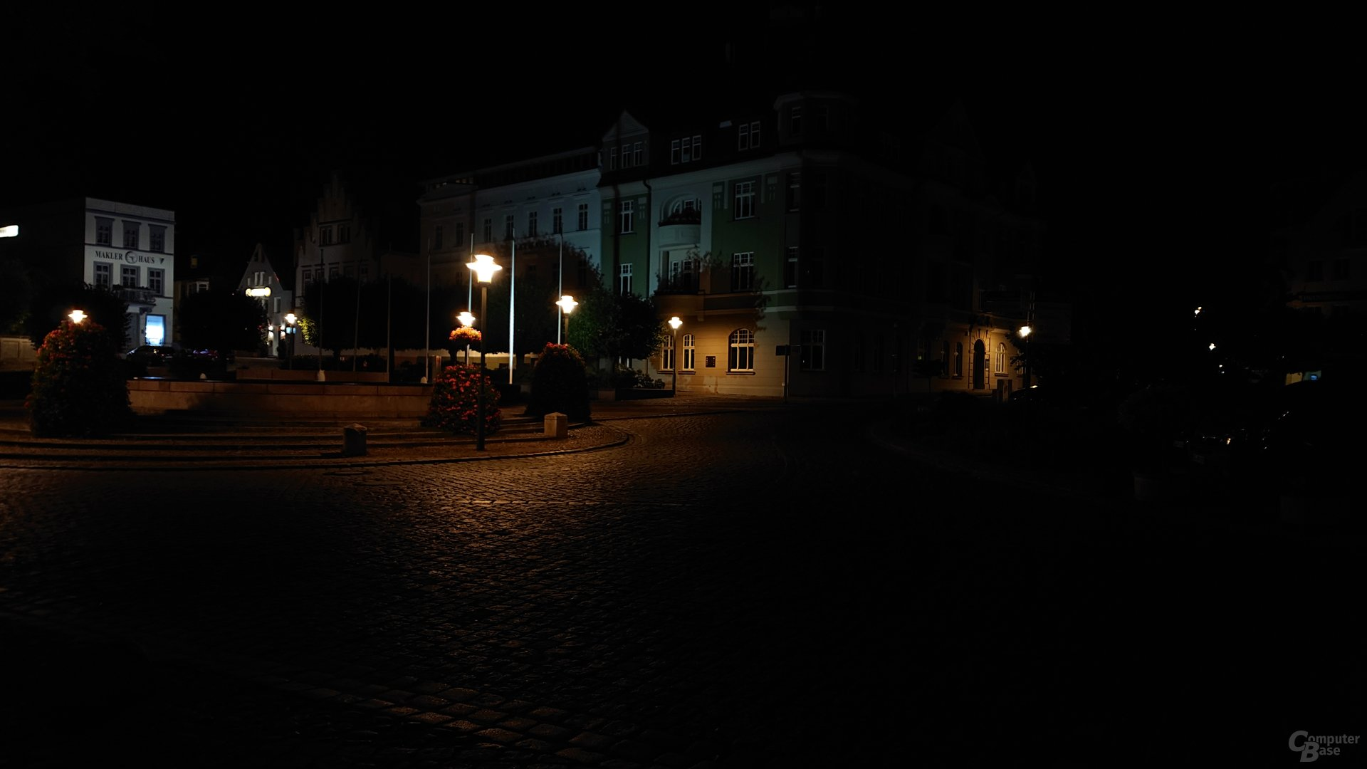 Nachtaufnahme, Duallinse, ISO 200