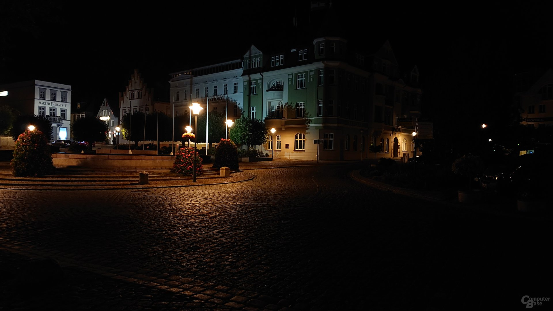 Nachtaufnahme, Duallinse, ISO 400