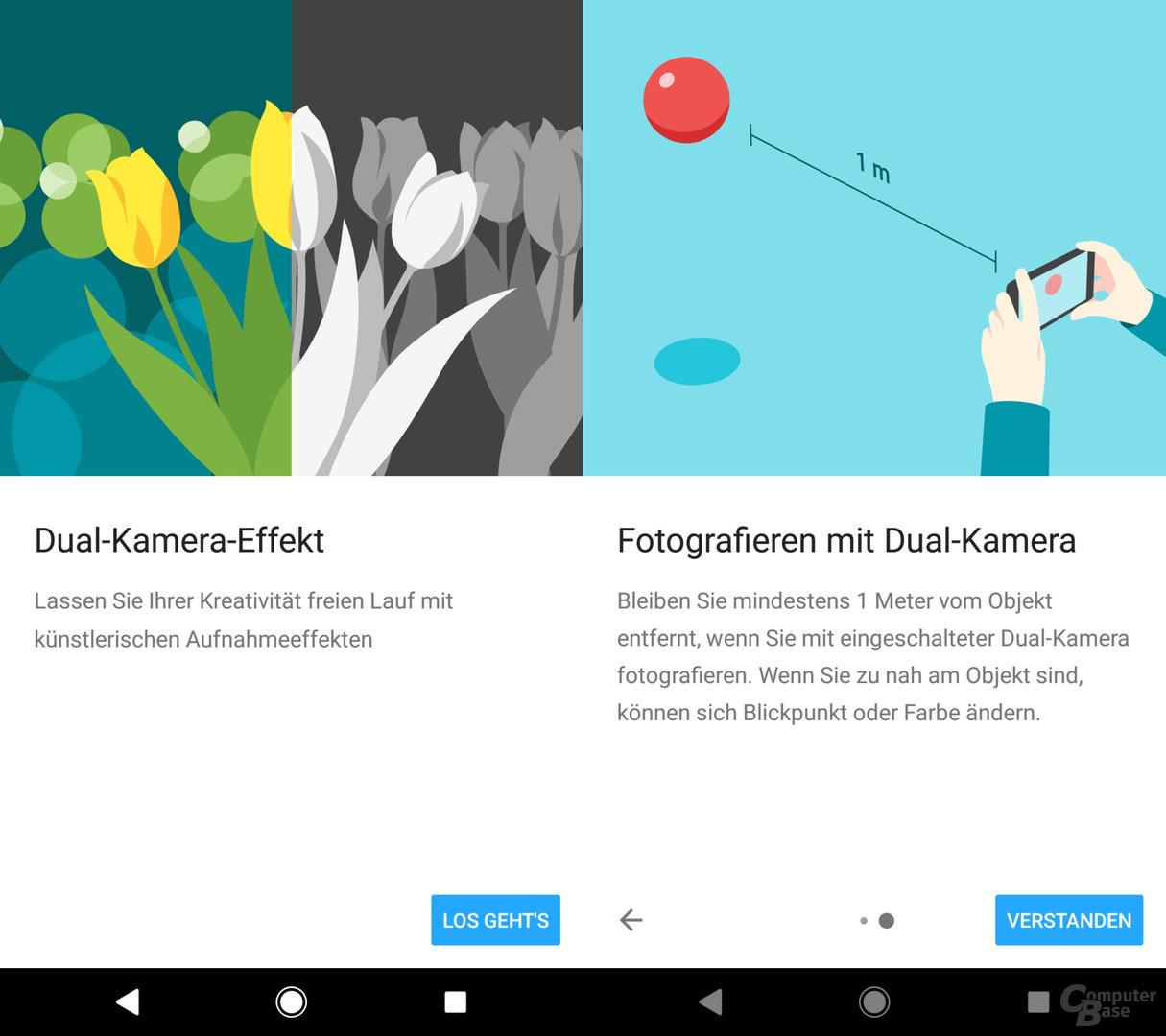 Sony Xperia XZ2 Premium im Kameratest: App-Erläuterungen