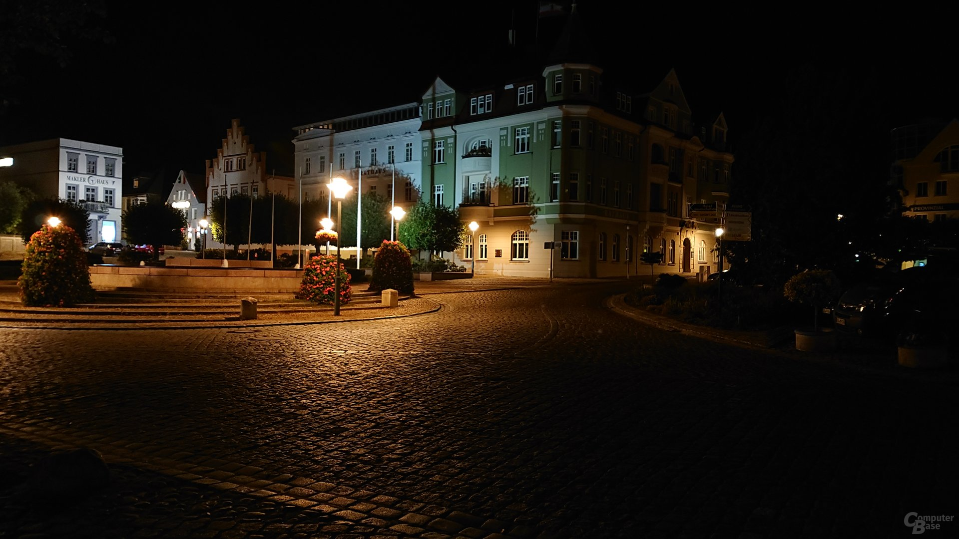 Nachtaufnahme, Duallinse, ISO 800