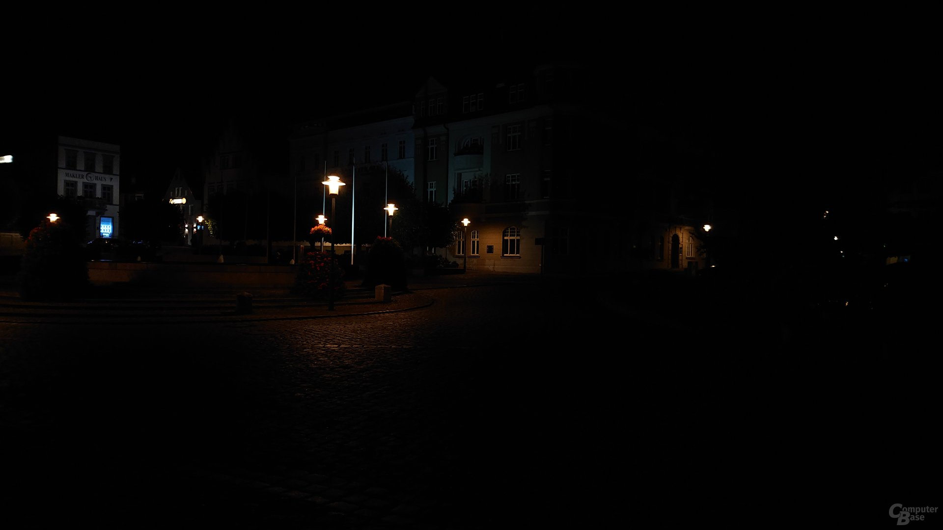 Nachtaufnahme, Hauptlinse, ISO 100