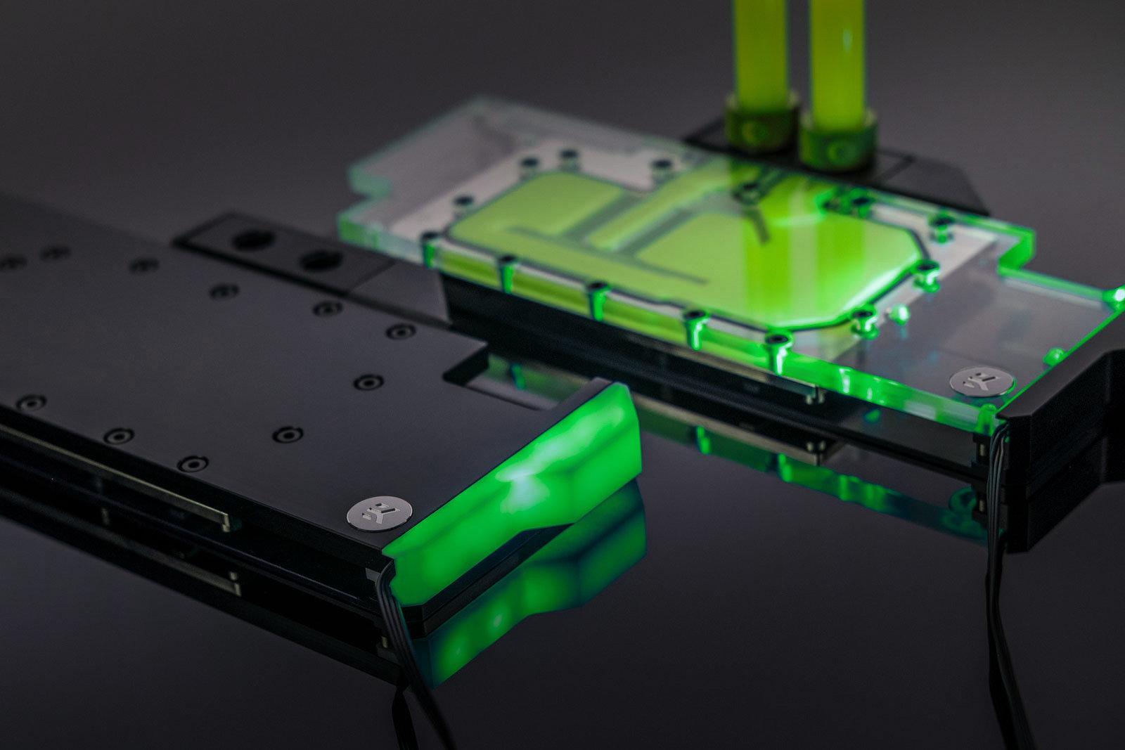 """EK Water Blocks Fullcover-Wasserkühler """"Vector"""" für Nvidia Turing-Grafikkarten"""