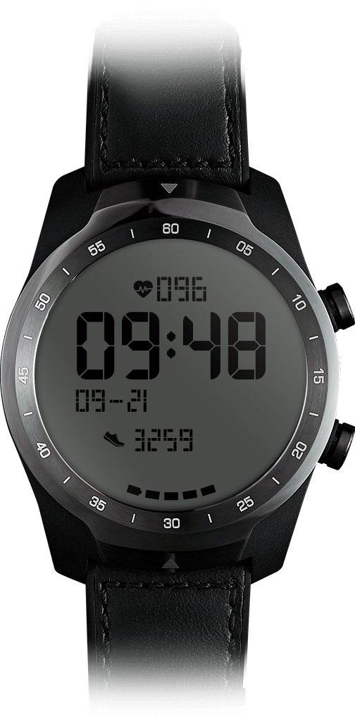 mobvoi ticwatch pro im test smartwatch mit zwei schicht. Black Bedroom Furniture Sets. Home Design Ideas