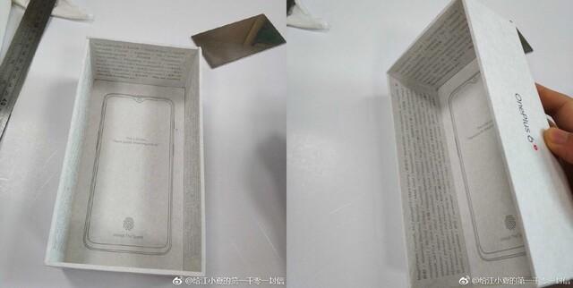 Verpackung des OnePlus 6T