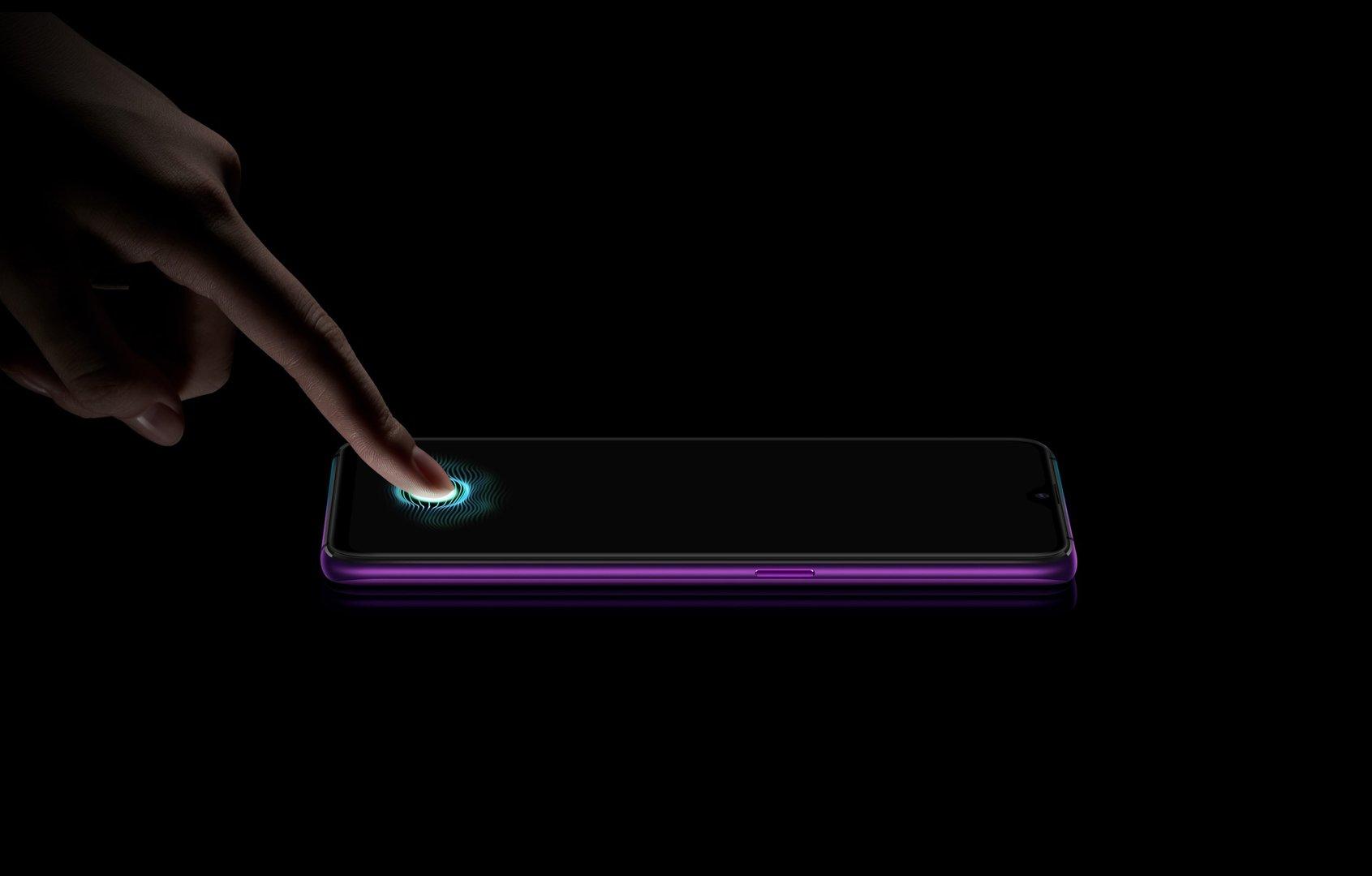 Fingerabdrucksensor des Oppo R17