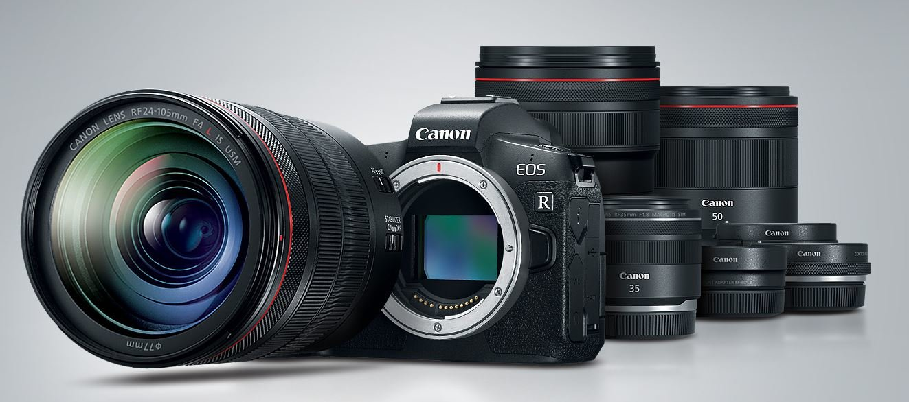 Canon EOS R und neue RF-Objektive