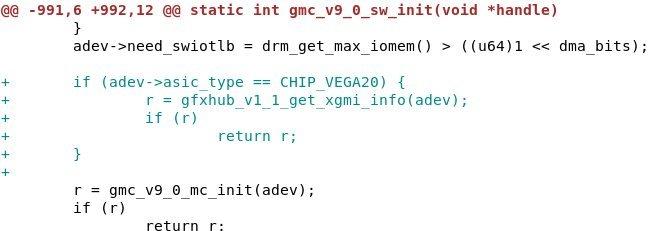 Vega 20 wird xGMI unterstützen