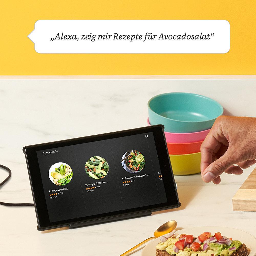 Neues Amazon Fire HD 8 im Show-Modus-Ladedock