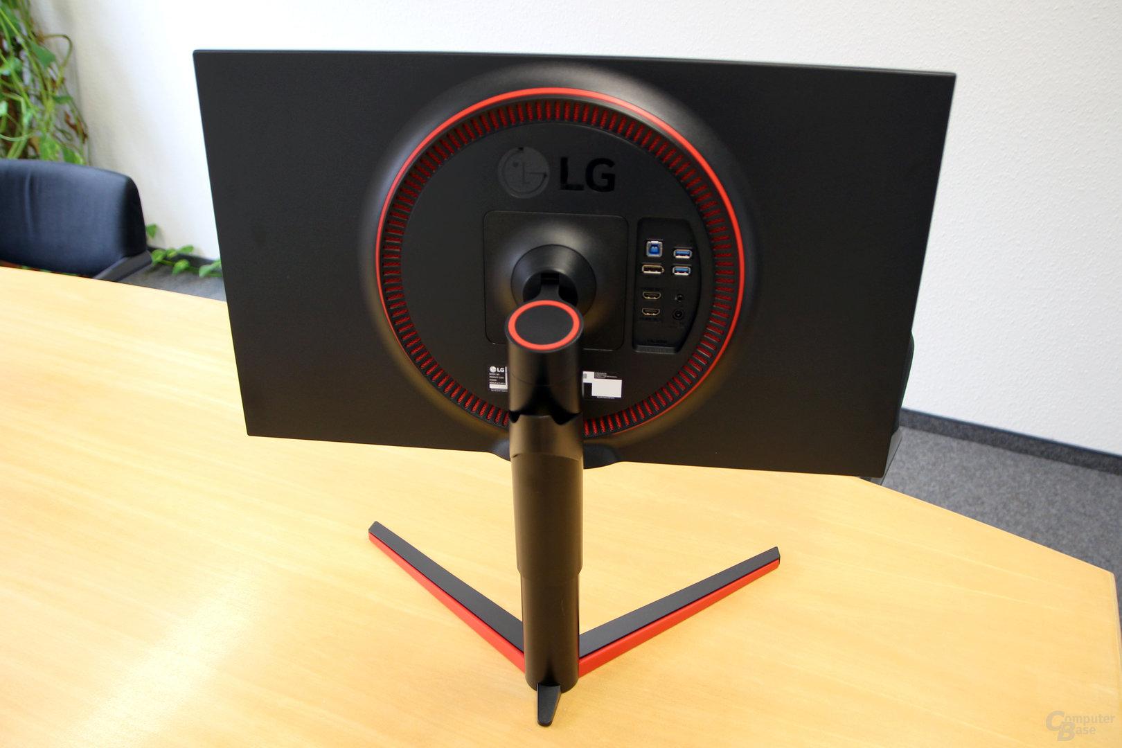 LG 27GK750F – Rot und Schwarz für Spieler