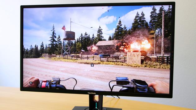 ViewSonic XG3220 im Test: UHD, FreeSync und etwas HDR10 für Spieler