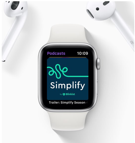 watchOS 5: Podcasts