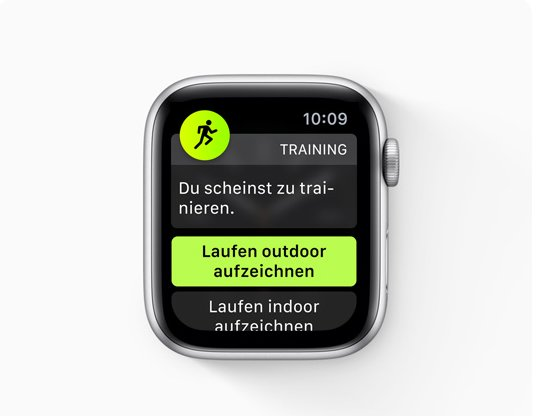watchOS 5: Automatische Trainingserkennung