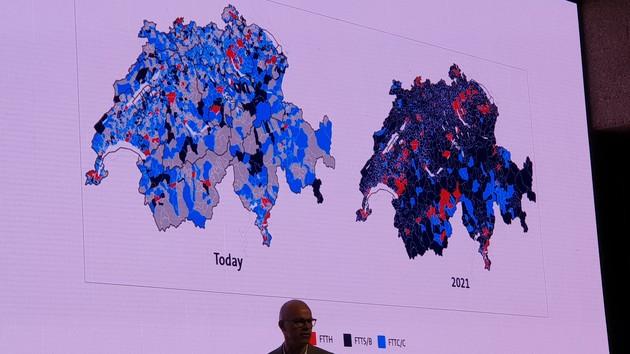 UBBF 2018: Swisscom will die Schweiz bis 2021 mit 500 Mbit/s versorgen