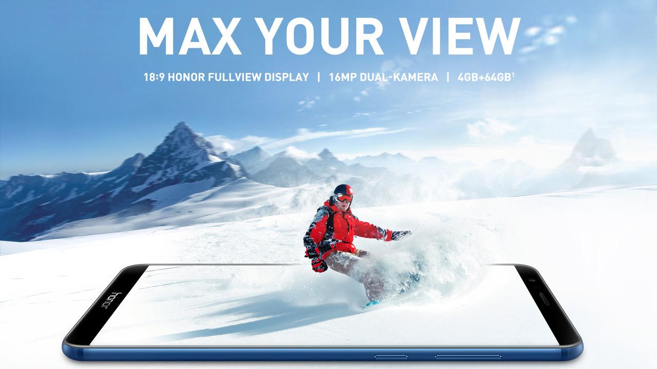 Honor 7X: Vorübergehend für 185 Euro bei Amazon verfügbar