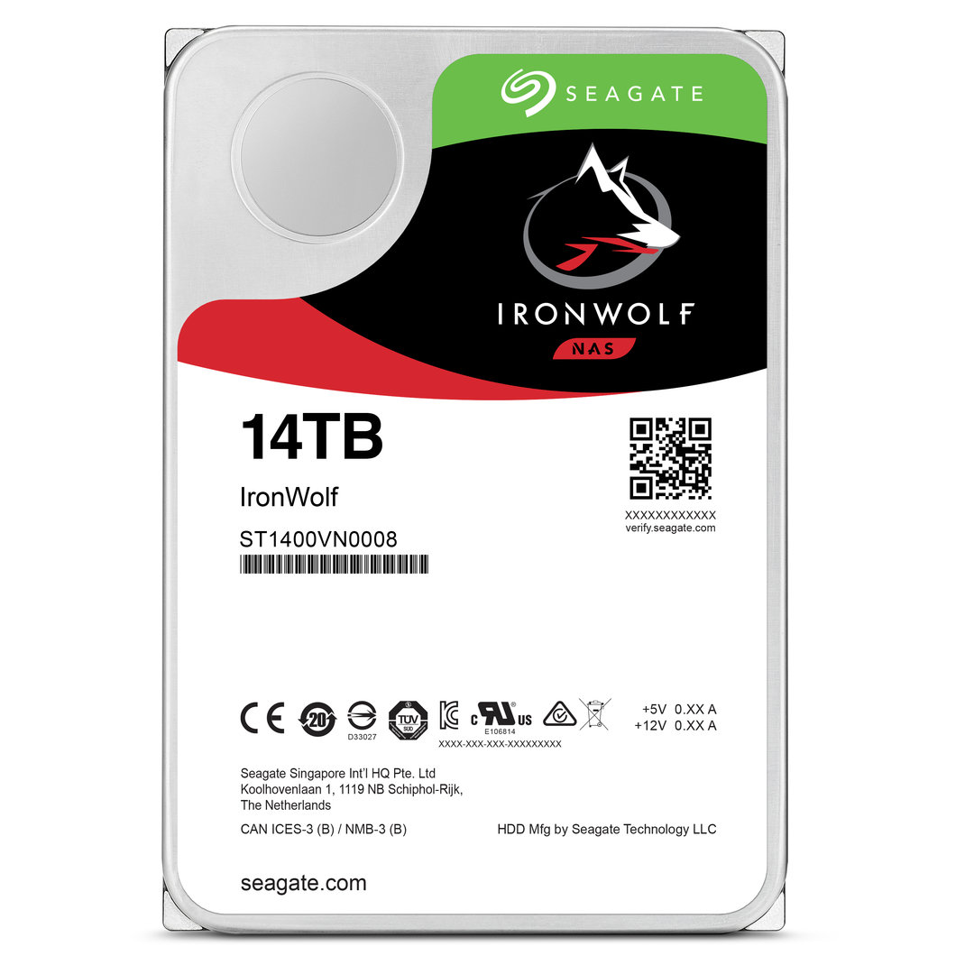 Seagate IronWolf 14 TB