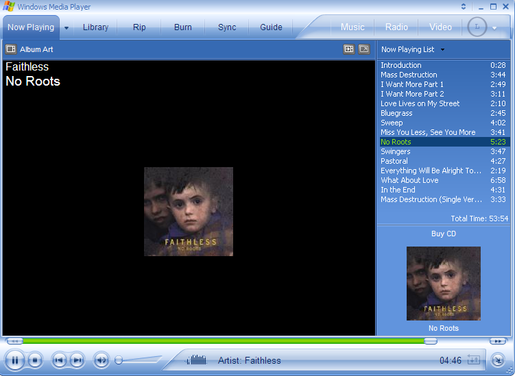 Windows Media Player 10