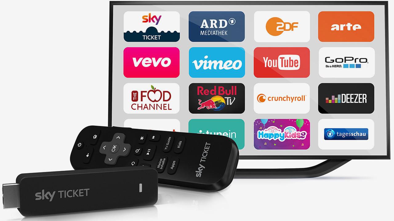 TV Stick: HDMI-Stick streamt Sky Ticket und weitere Dienste