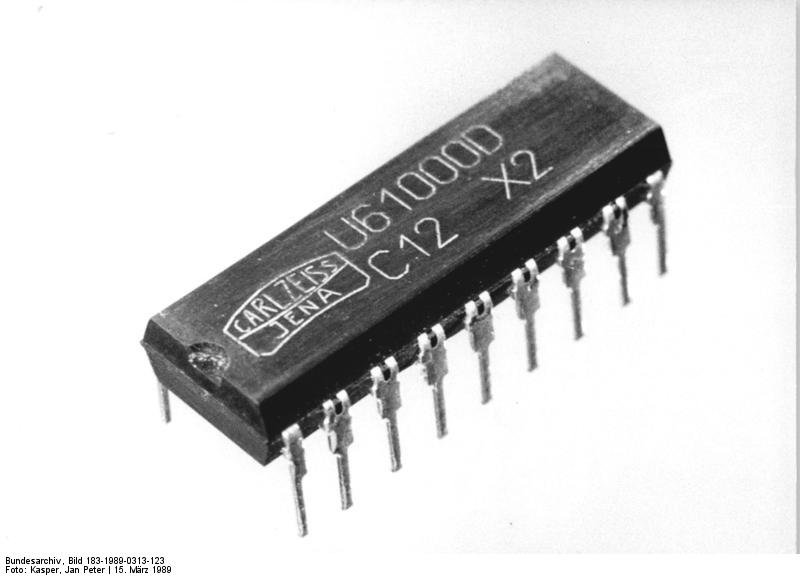 Der U61000D – der erste und einzige 1-MBit-Chip der DDR