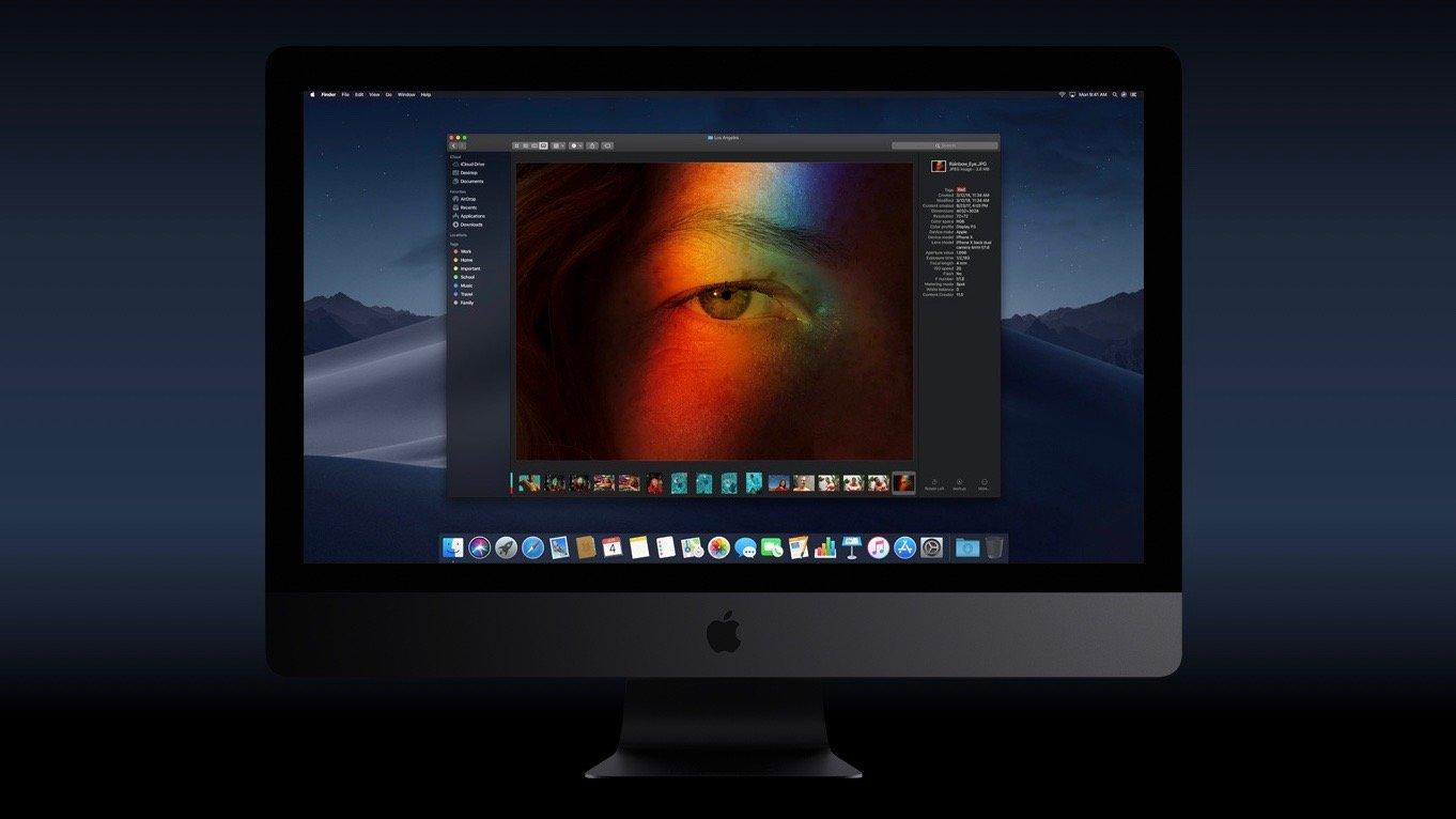 Der neue Dark Mode in macOS 10.14 Mojave
