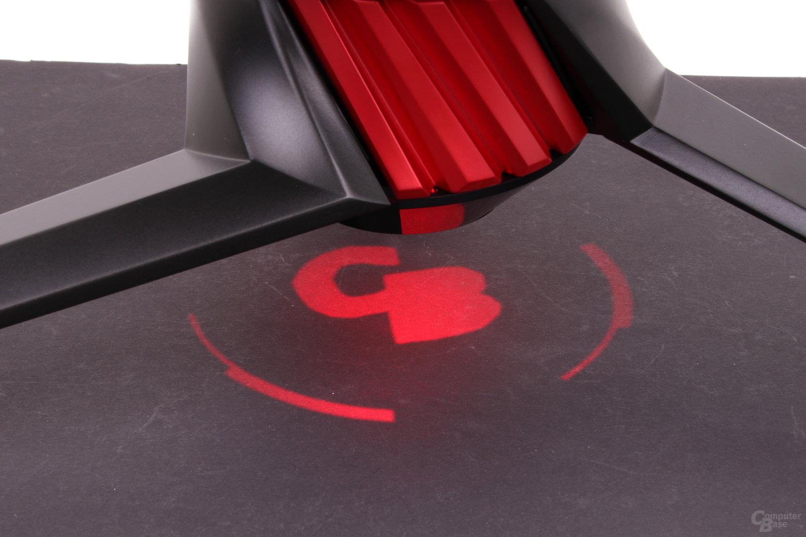 Asus ROG Strix XG35VQ – LED-Beleuchtung