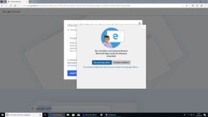 Windows 10 Redstone 5: Microsoft fängt Chrome- und Firefox-Installation ab
