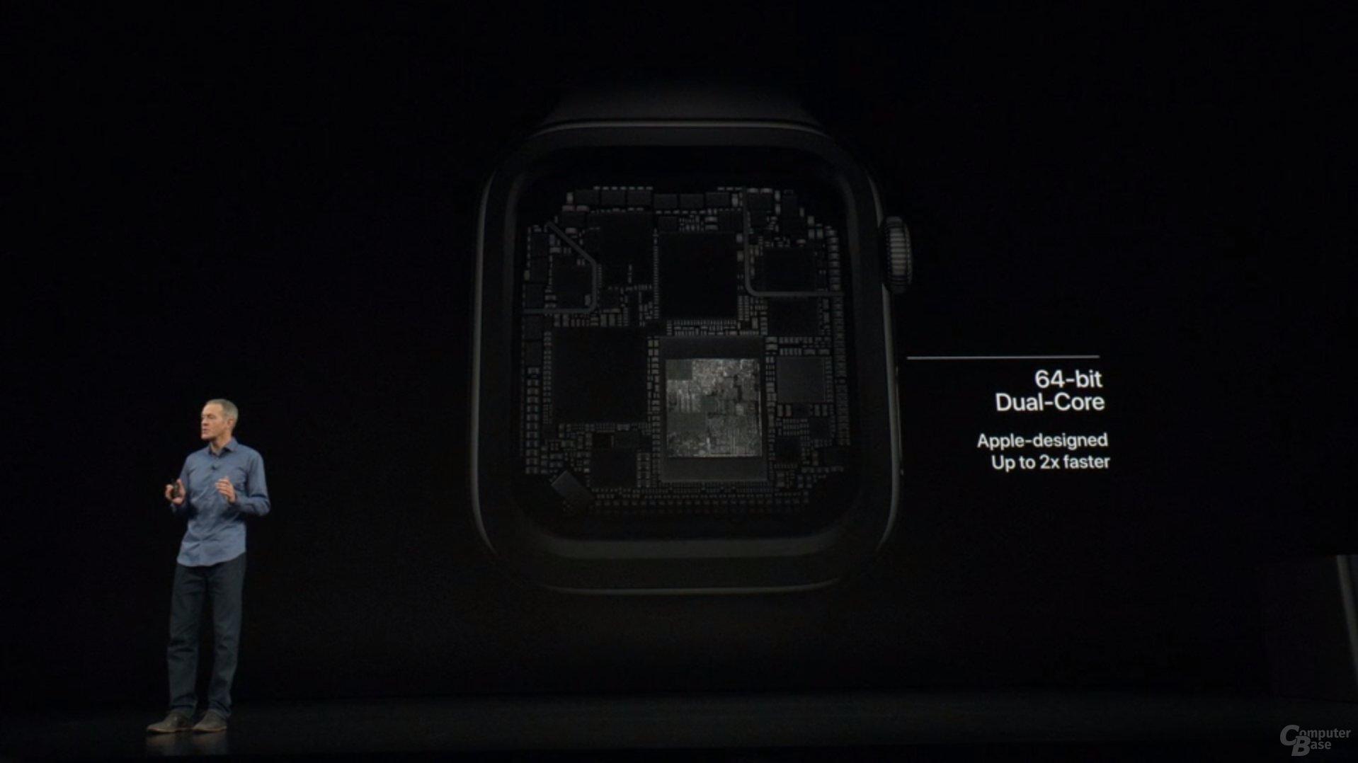 Apple Watch Series 4 – S4 ist bis zu 2x schneller
