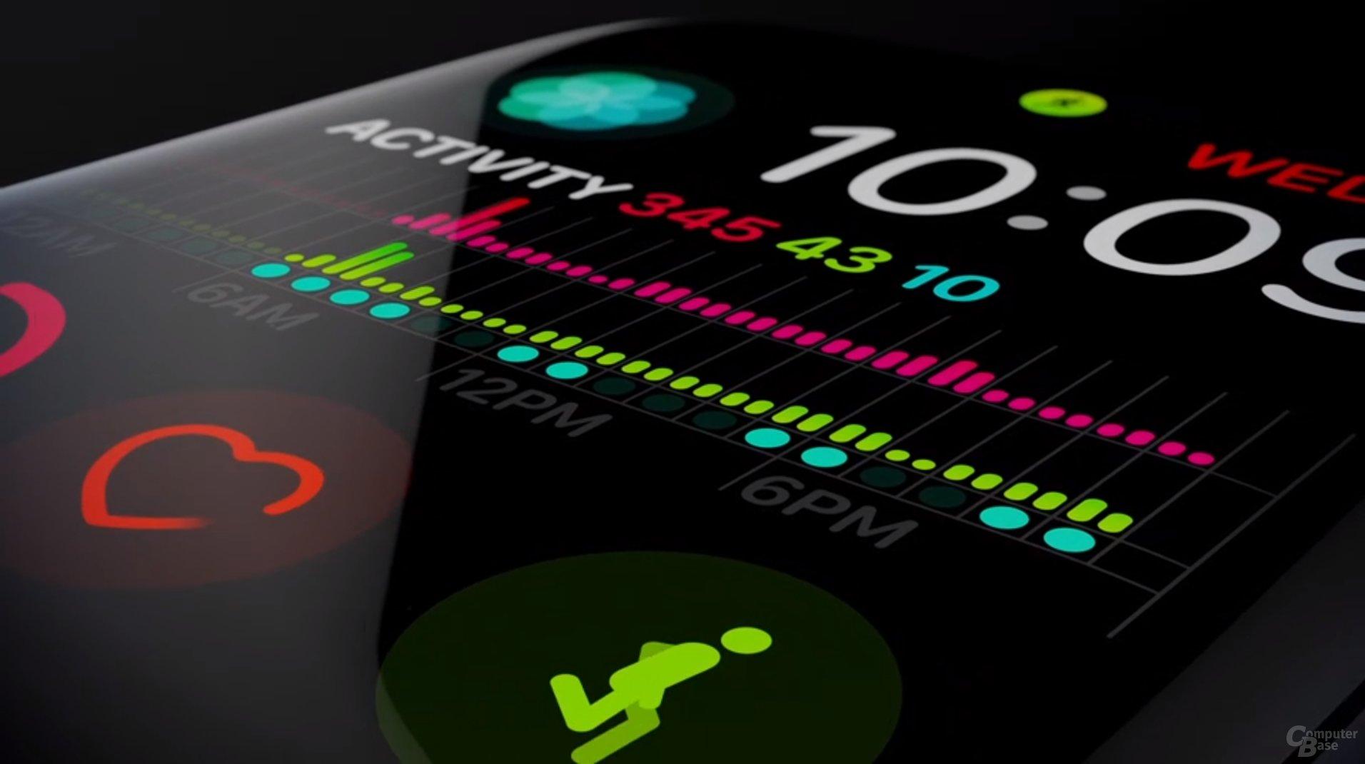 Apple Watch Series 4 – Display bis zum Rand